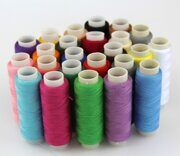 New-24-Spools-set-Mixed-Colors-Polyester-All-Purpose-Sewing-Threads-Cones-Set-Hot-hilos-de